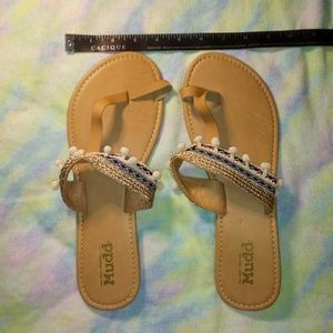 NWOT Mudd Sandals SZ 11